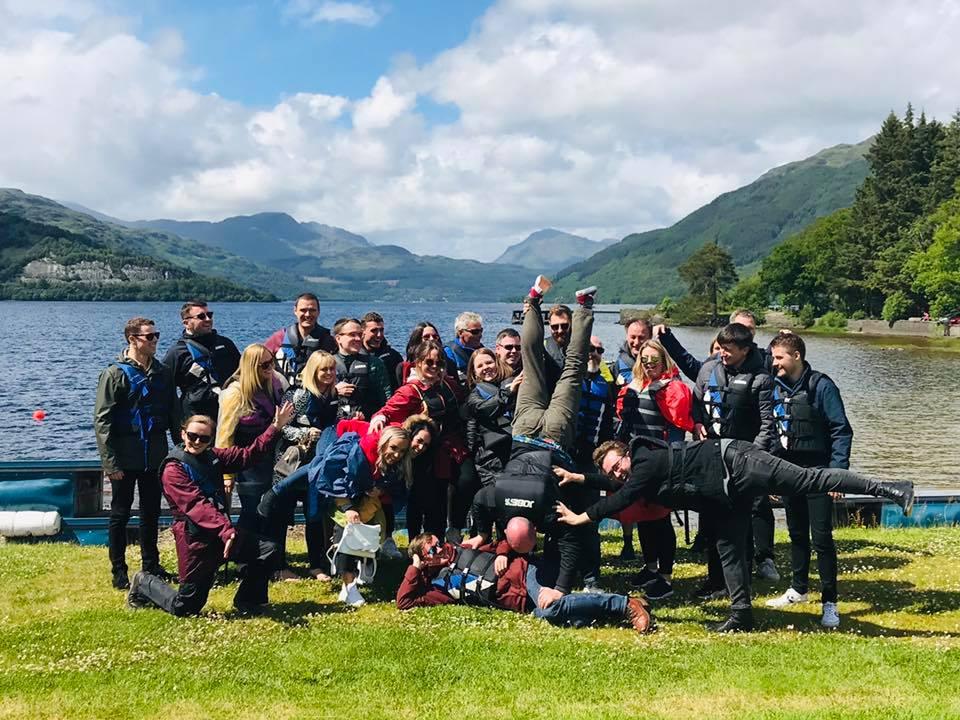 CRGP Team at Loch Lomond